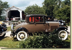 Bridgeton Vintage Car Show.