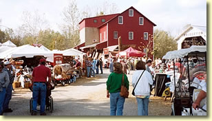 Parke County Covered Bridge Festival, Bridgeton Indiana